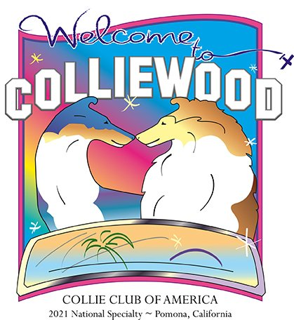 2021 Collie Club of America National logo