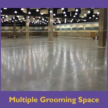 Multiple Grooming Space