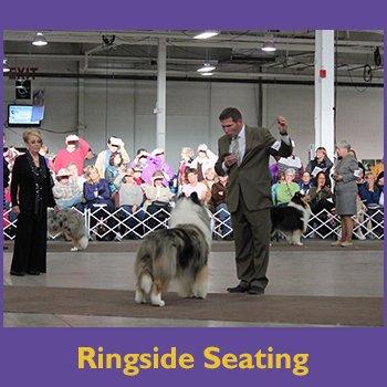 ringside seating