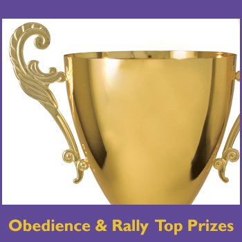 Obedience & Rally Top Prizes