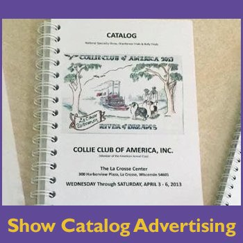 show catalog advertising