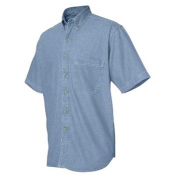 short sleeve denium shirt