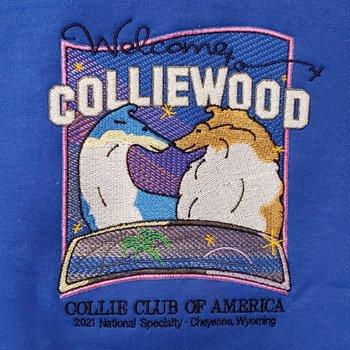 sweatshirt blue logo
